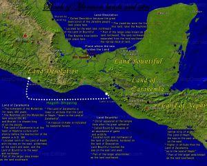 #11 Mormon Mesoamerican map